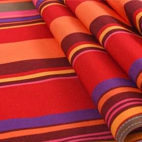 toile transat rayures multicolores 53 43 cm