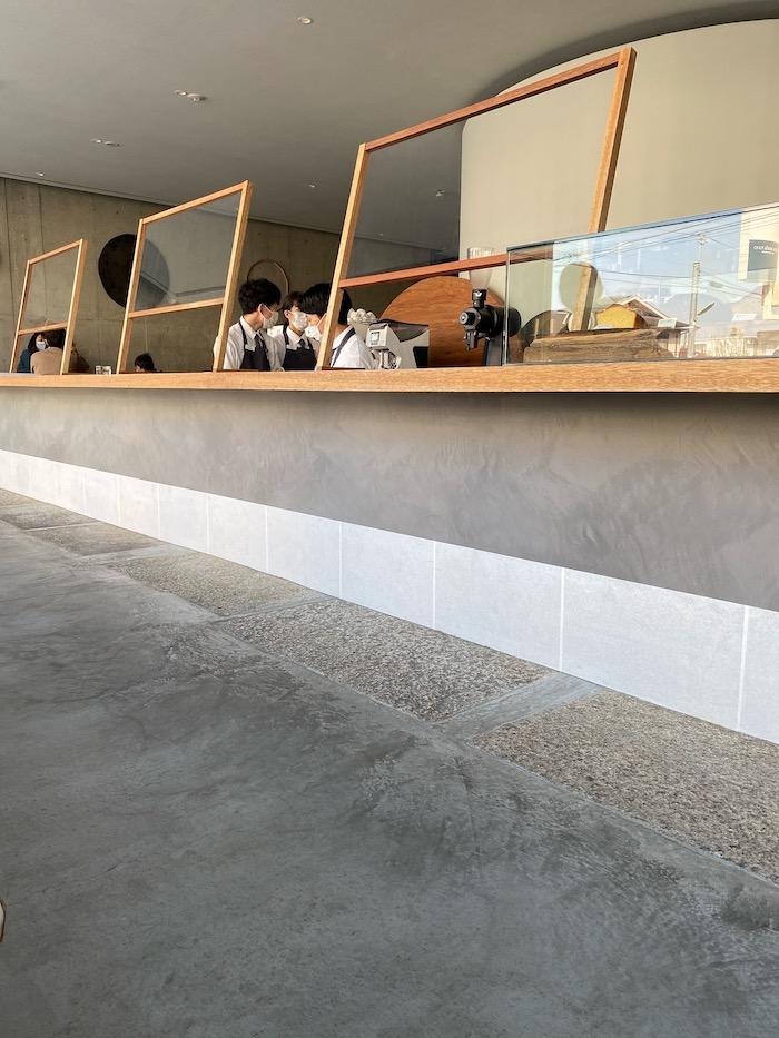 OGAWA COFFEE LABORATORY カウンター