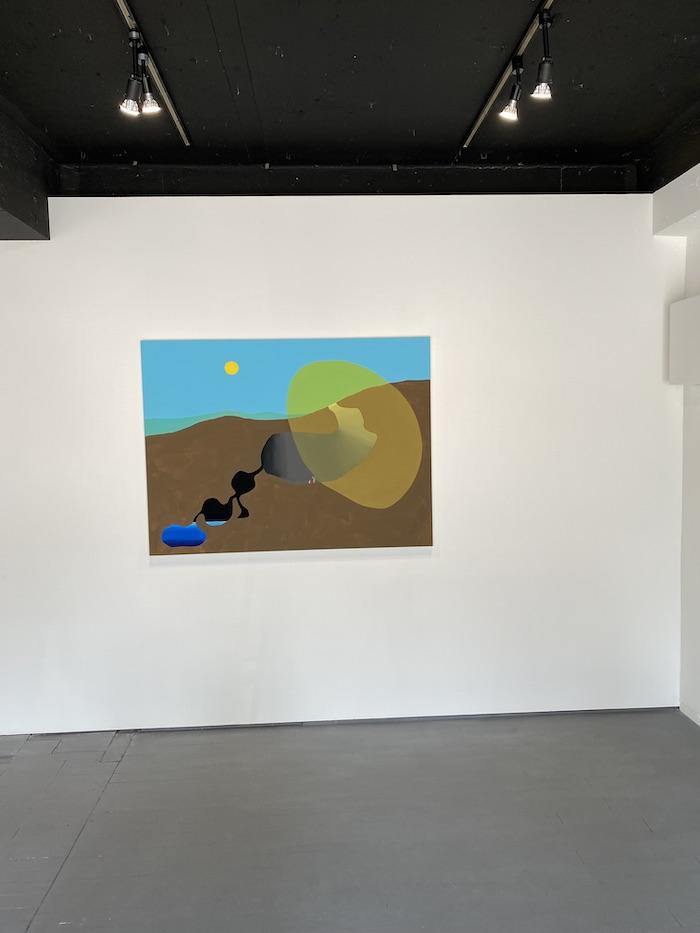 ピーター・マクドナルド「Sampo/散歩」gallery side 2