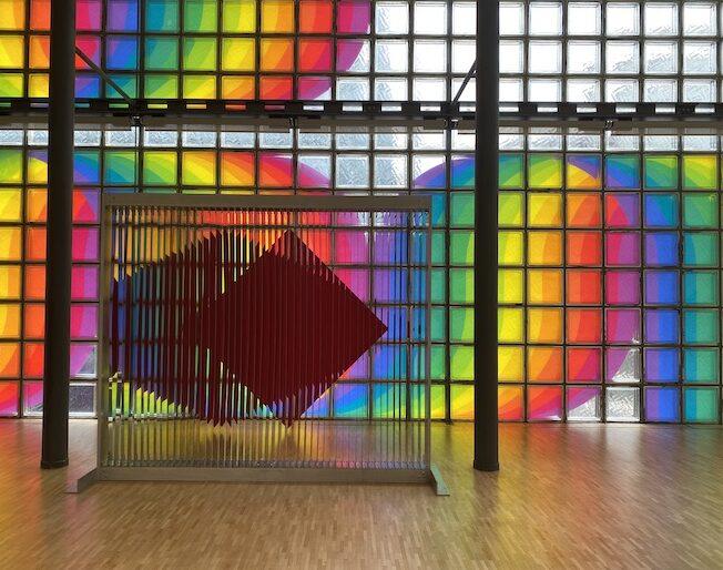 「ル・パルクの色 遊びと企て」ジュリオ・ル・パルク展 銀座メゾンエルメス