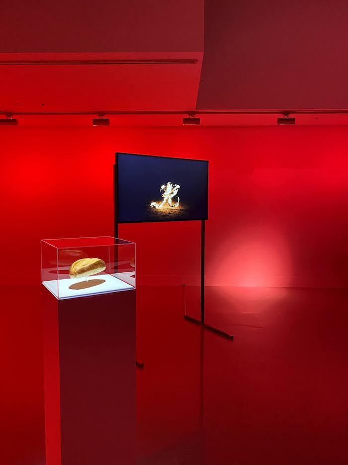 石原海展「重力の光」資生堂ギャラリー