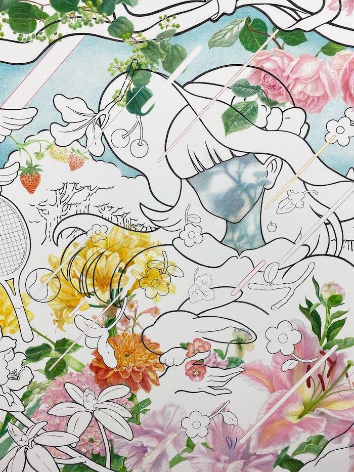 Gallery MoMo重田 美月「寝覚めの開花」