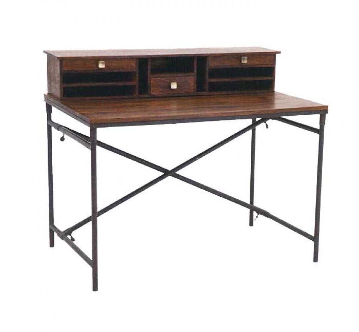 crispy secretaire vintage bois et metal