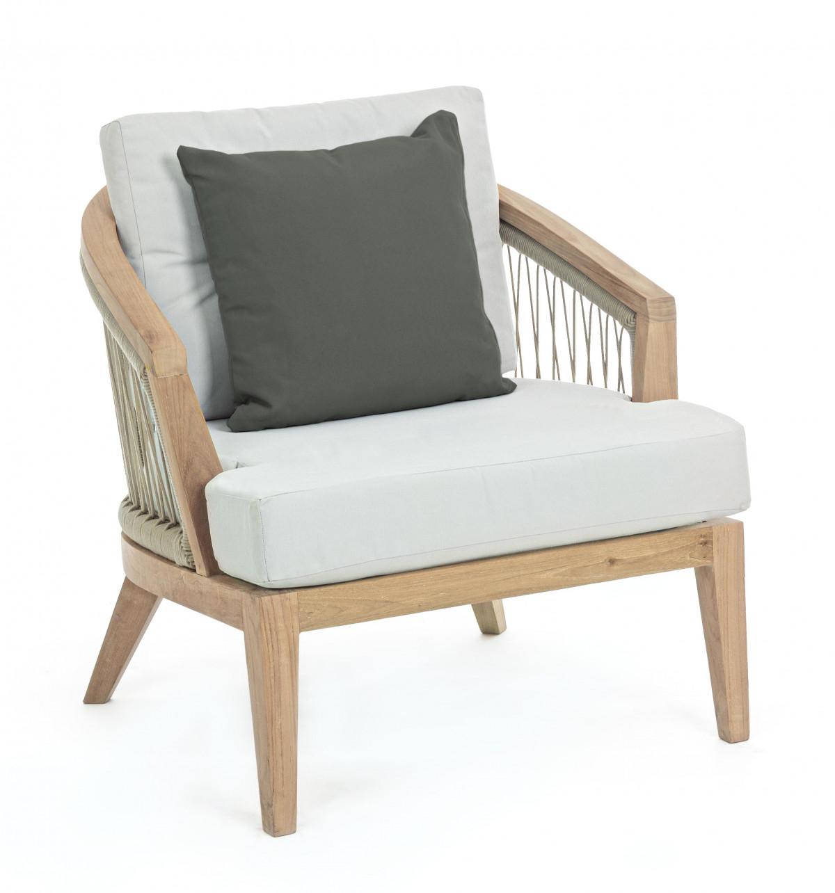 carmen fauteuil de jardin teck durable