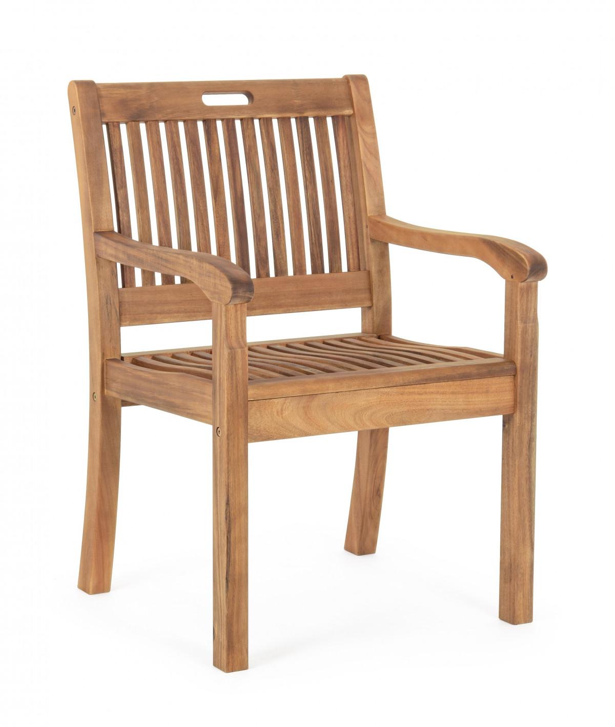 goudo set de 2 fauteuils de jardin bois d acacia