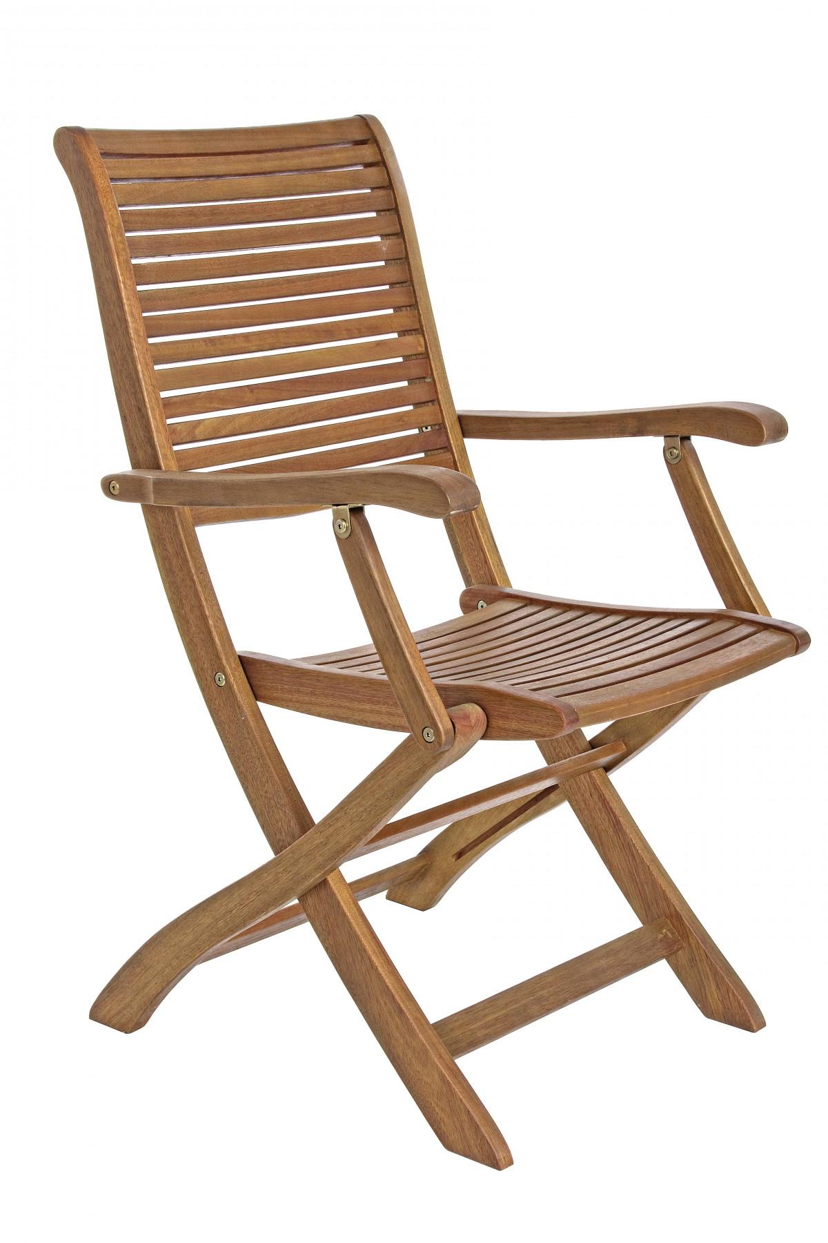 goudo fauteuil pliant de jardin bois d acacia