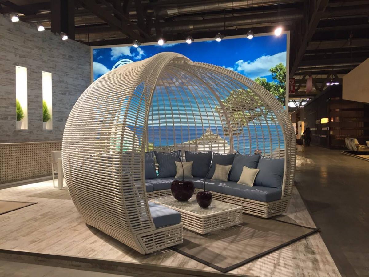 meubles de jardin cocoon de la collection lusso