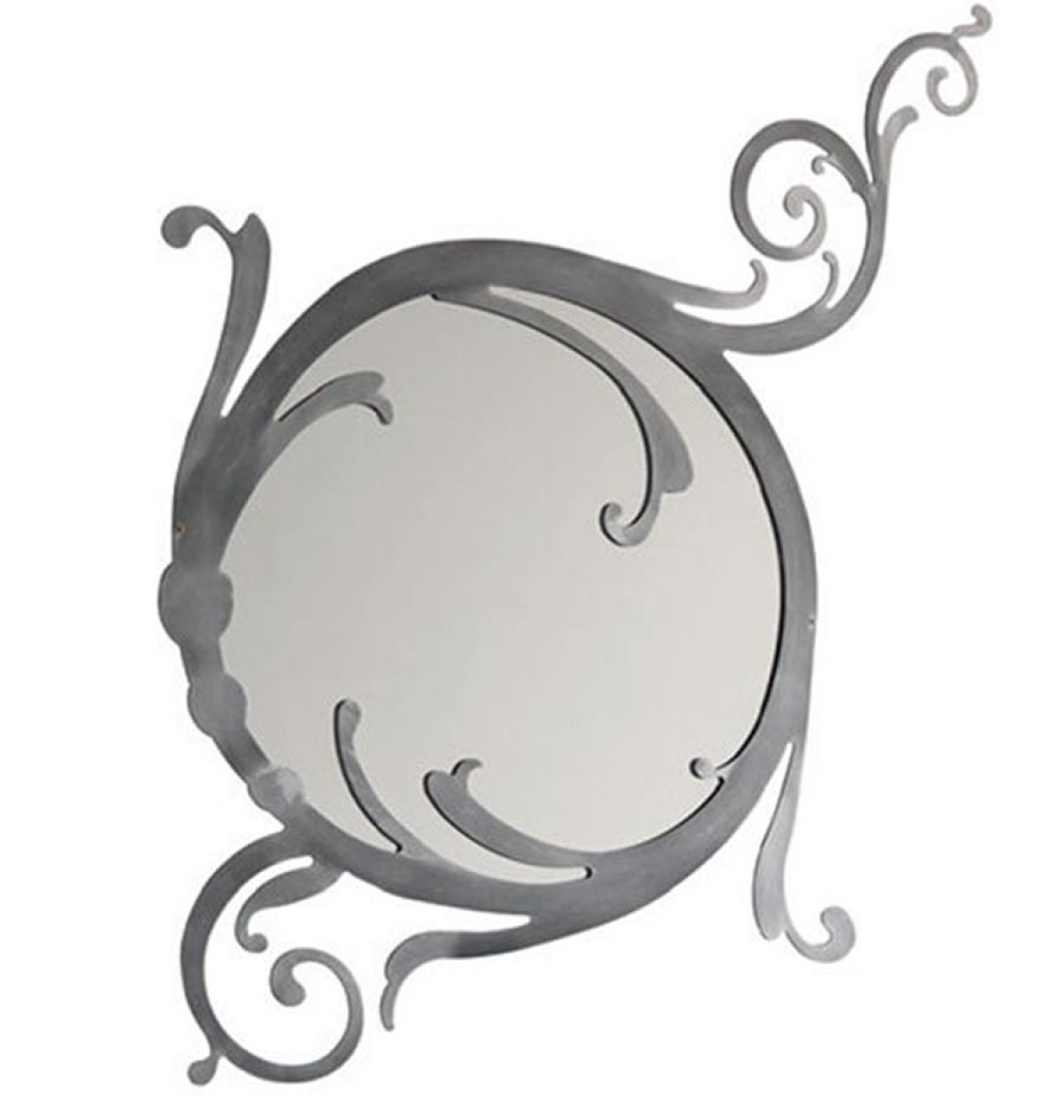 miroir fer forge et fonte finitions aux choix
