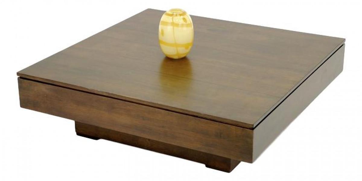 quixa table basse carree 100x100 cm