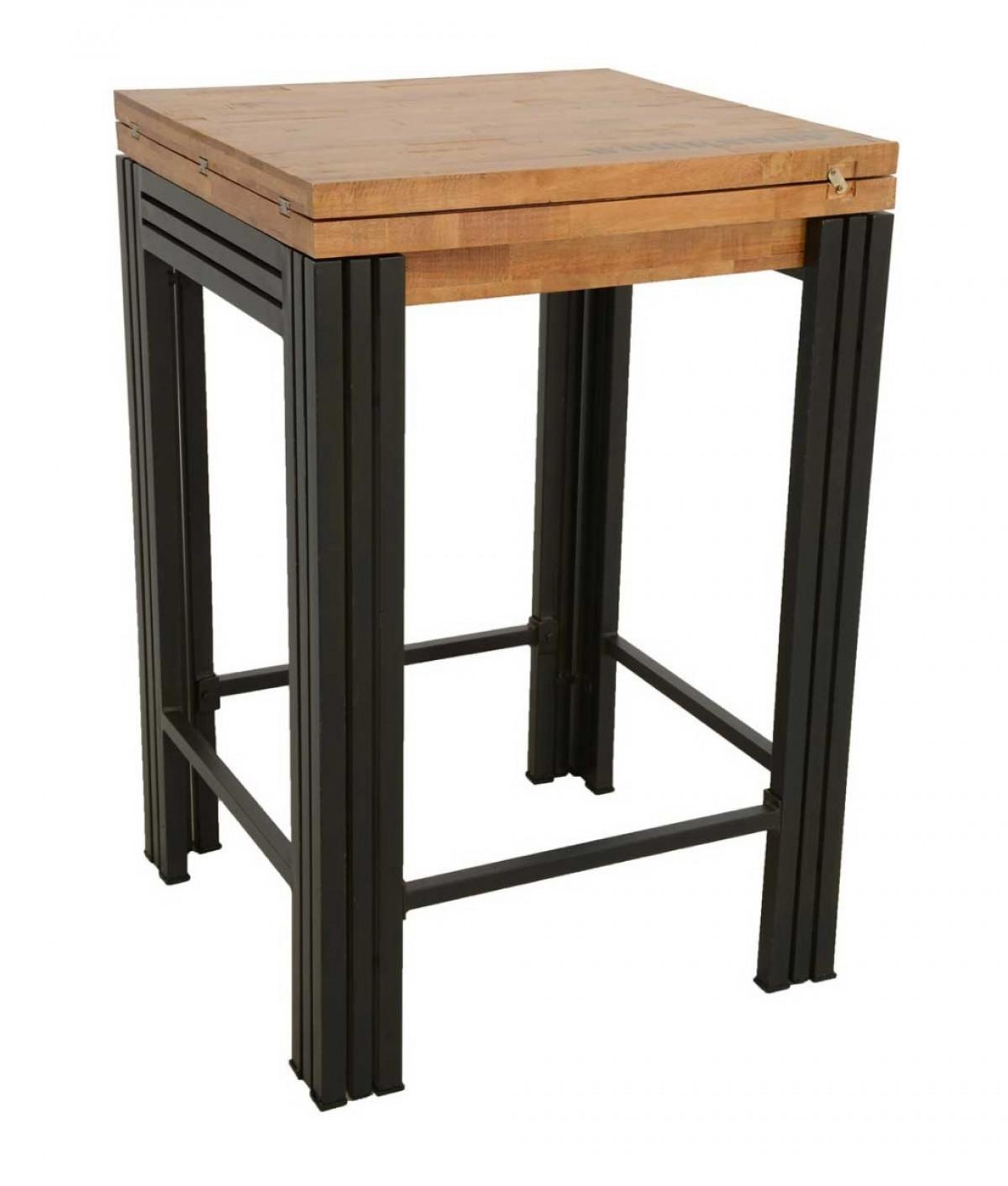 لغة مبسطة تنشيط بيرس table avec tabouret integre