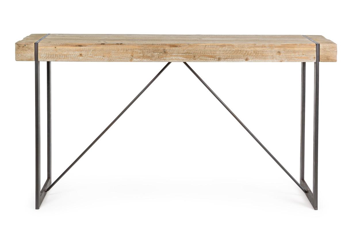 cloud table bar 2 a 3 personnes fer et bois