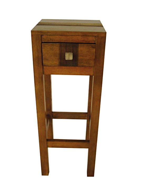 petite meuble telephone en bois personnalisable modele arster