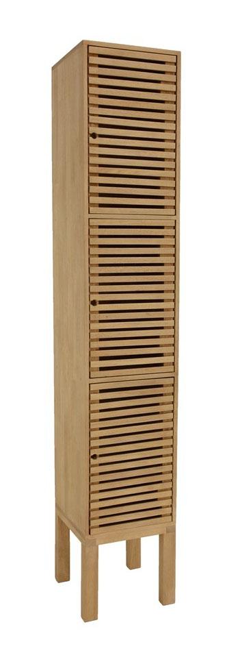 poseidon colonne salle de bain bois massif