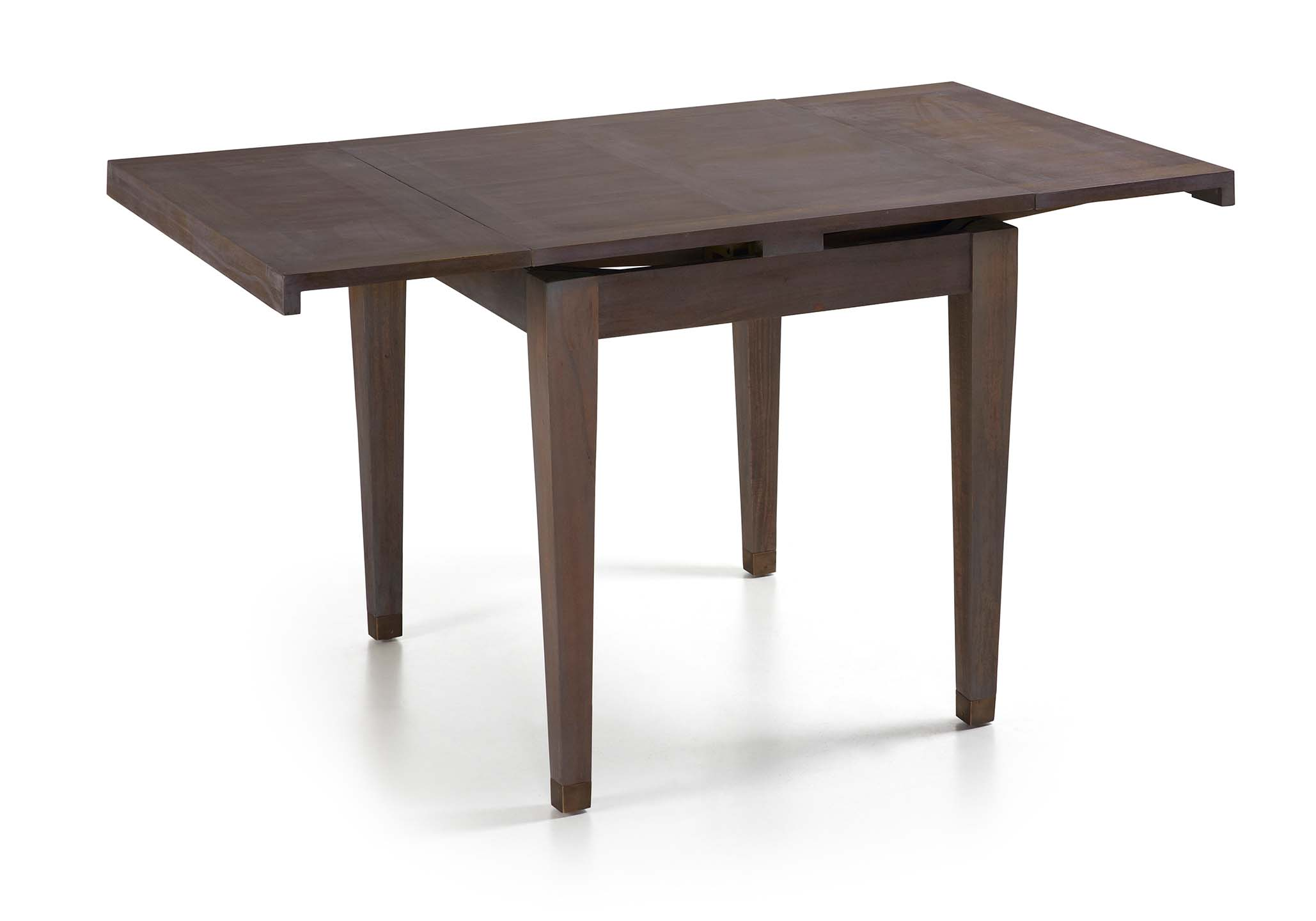 table salle a manger avec rallonge en bois de mindi collection tana image