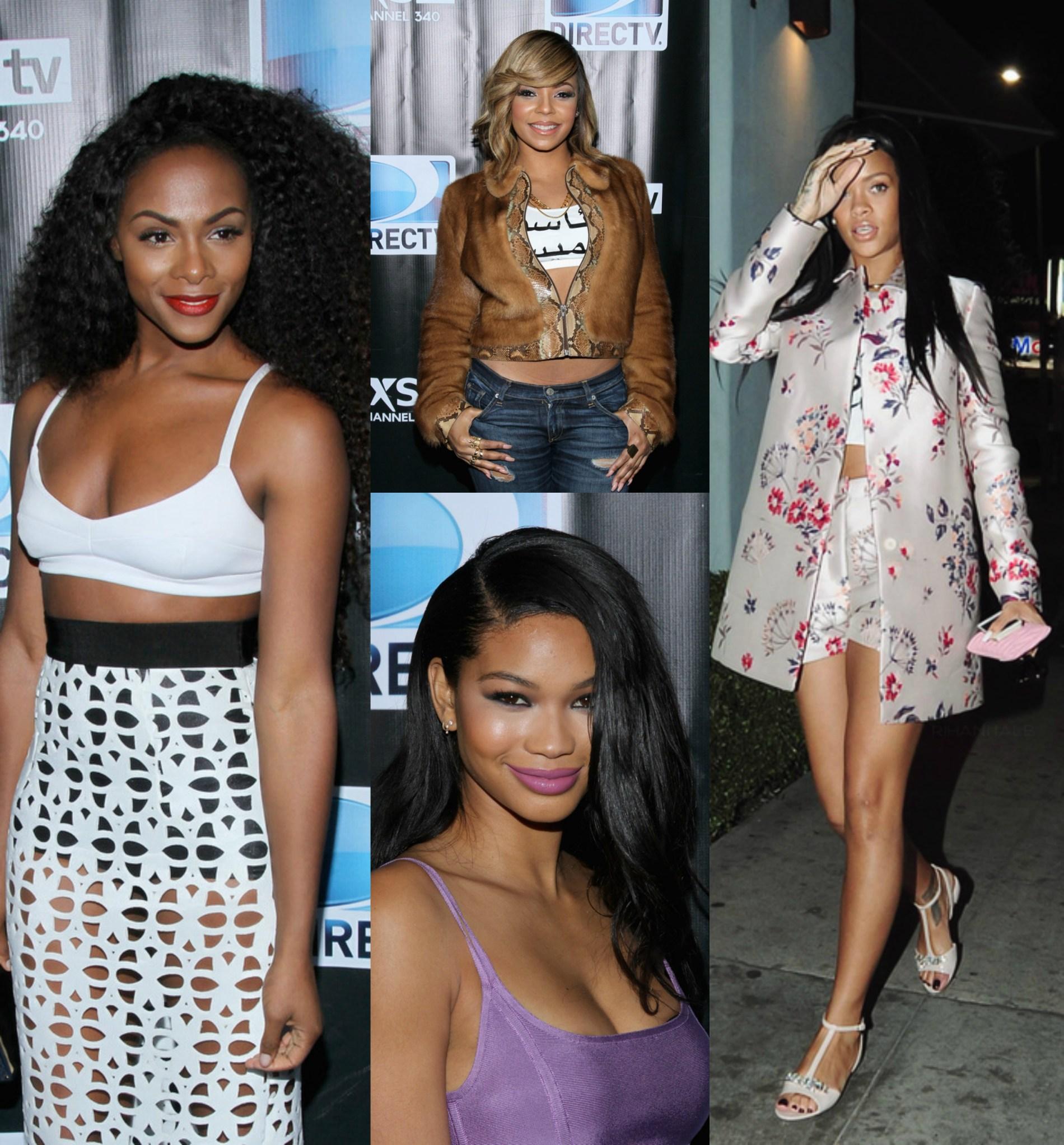Sizzling Sightings: Tika Sumpter, Chanel Iman, Serena Williams, Rihanna, Chrissy Teigen and More!