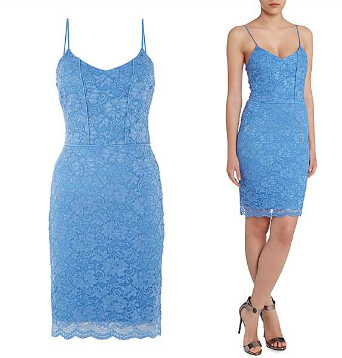 John Zack Cami Lace Bodycon Mini Dress