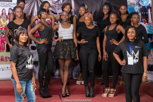 CONTESTANTS AND PRESENTERS ANITA T AND RENETTE