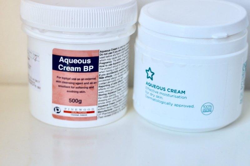 aqueous emollient cream