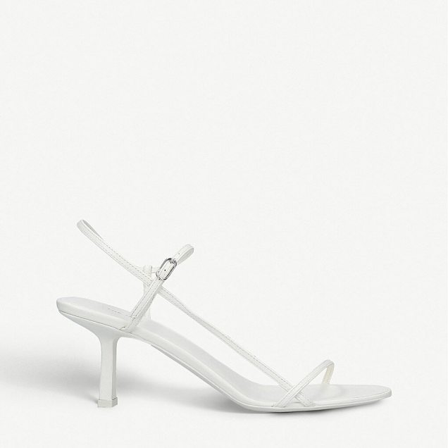 The Row Bare leather sandals, £670