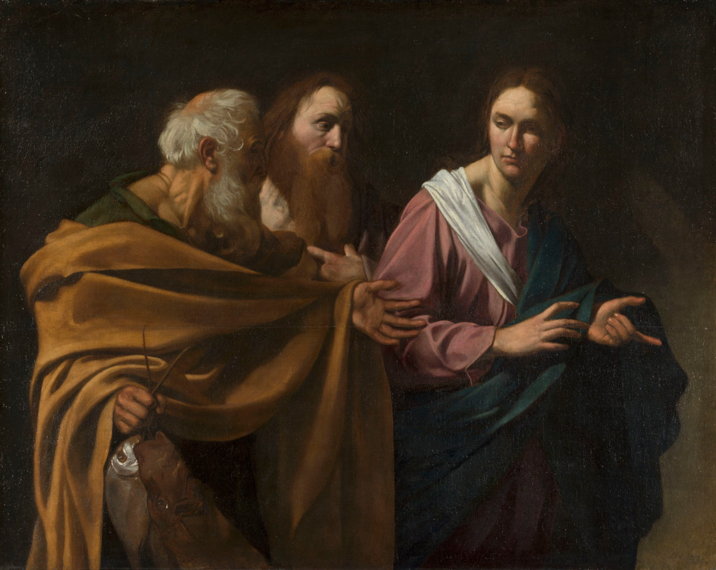 Caravaggio: The calling of Sts Peter and Andrew