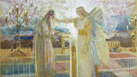 The Angel Appears to the Prophet