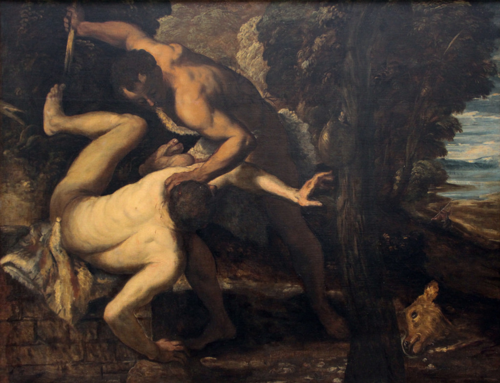 Cain and Abel, by Il Tintoretto