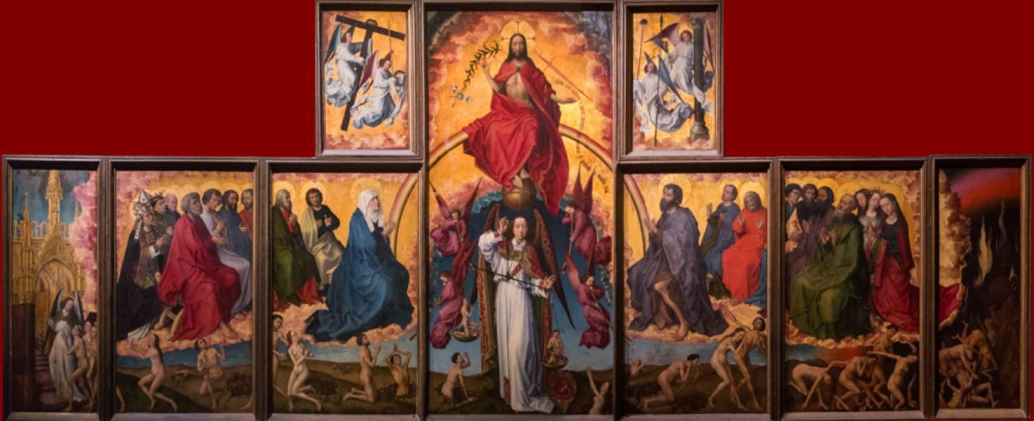 last judgment rogier van der weyden