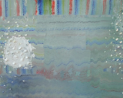 [Image: Josette Urso, Snow Throw, 2011, oil on canvas, 14 x 18 inches]