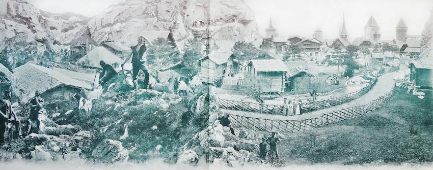La Village Suisse Panorama