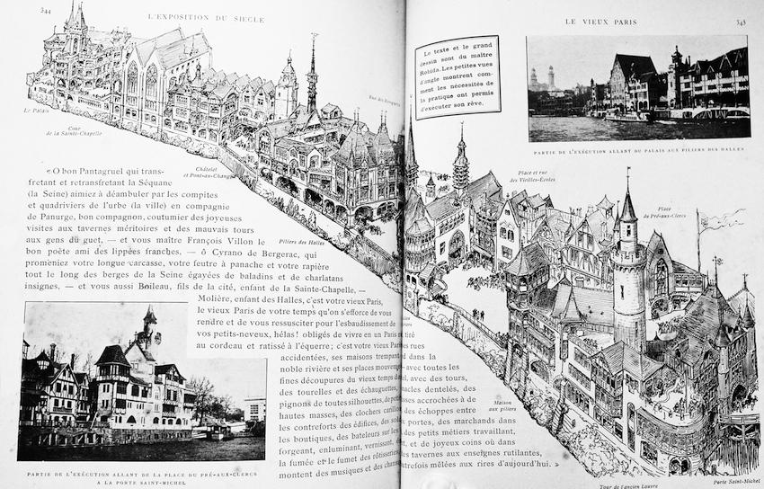Le Vieux Paris Plan