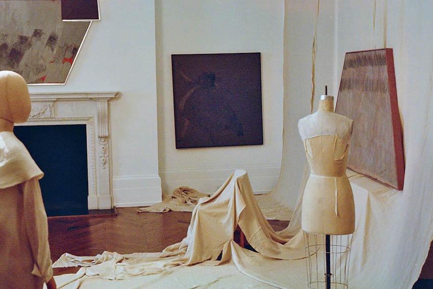 "Installation view: ""Kai Althoff"", Michael Werner Gallery, London 2014"