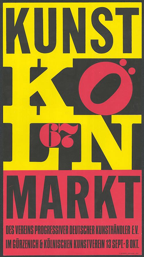 03. Kunstmarkt 67, Plakat