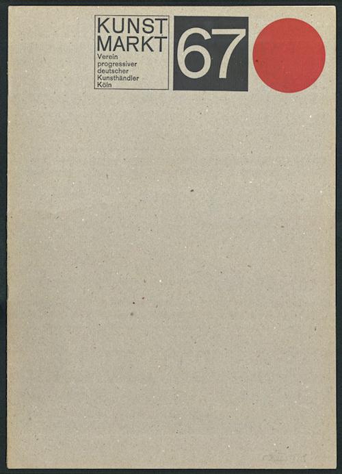 04. Kunstmarkt 67, Katalog-1