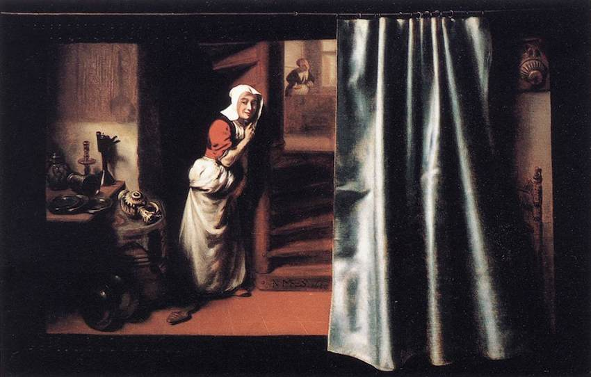 nicolaes_maes_-_eavesdropper_with_a_scolding_woman_-_wga13817