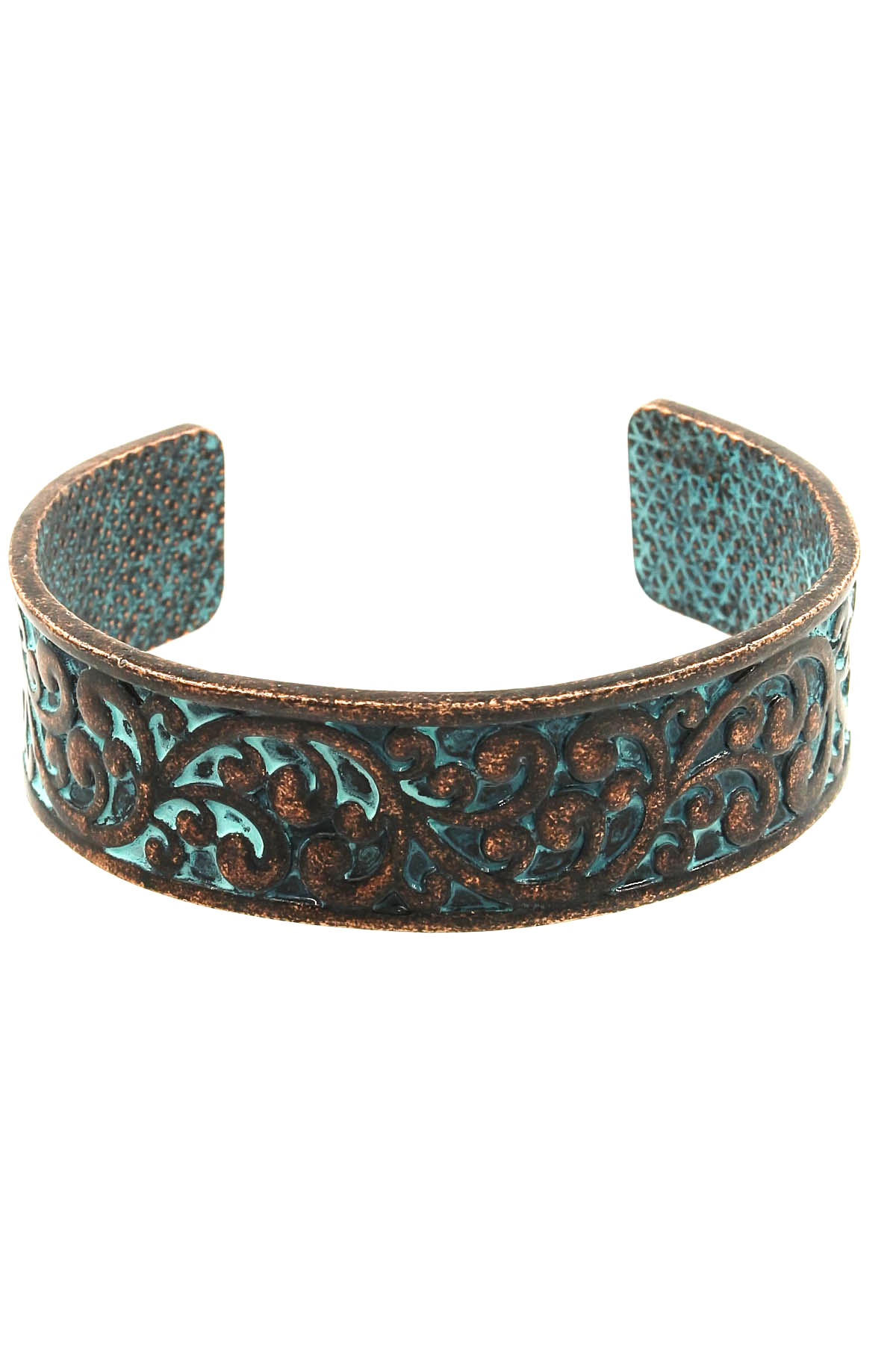 Metal Filigree Cuff Bracelet Bracelets