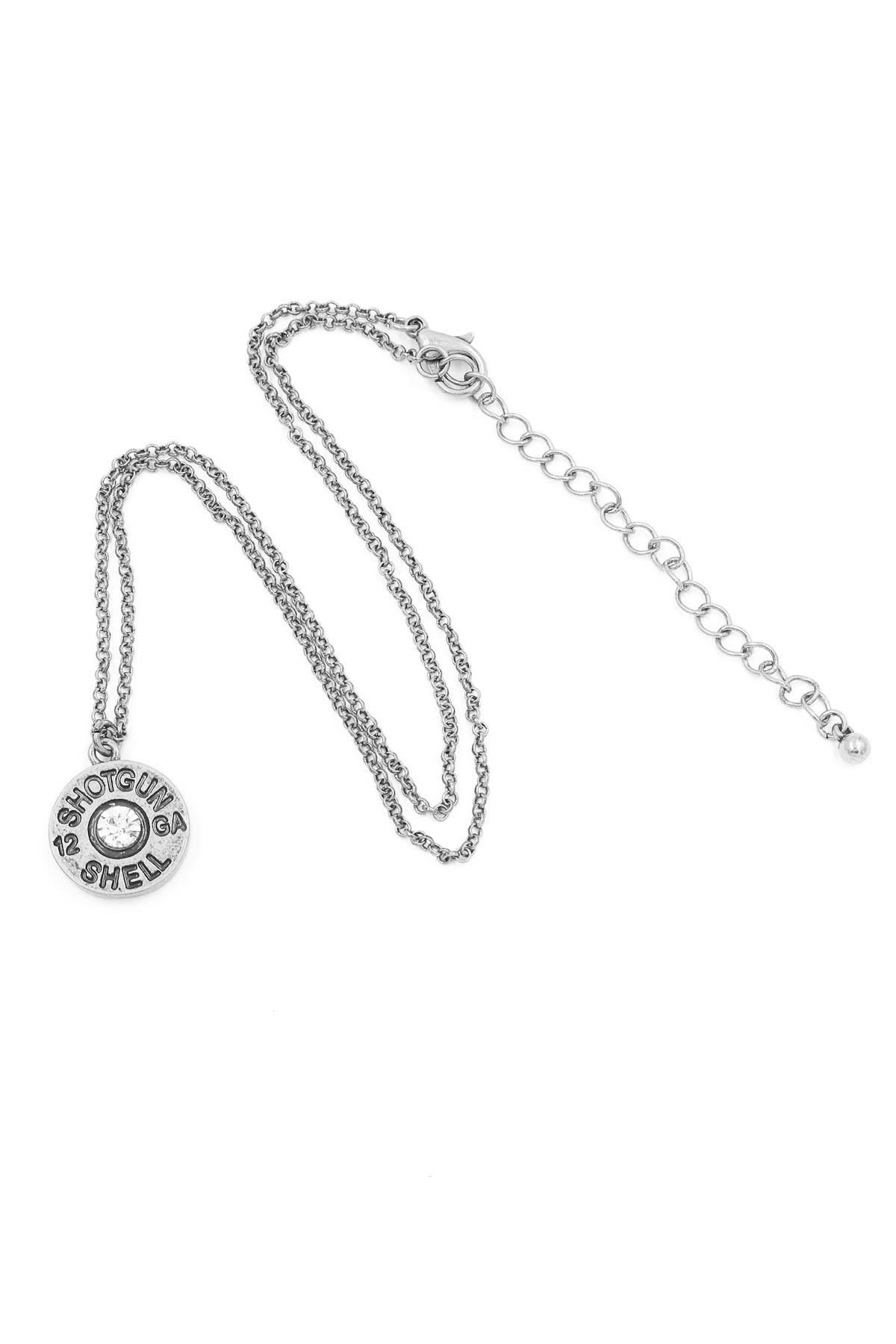 12 Gauge Shotgun Shell Necklace Set