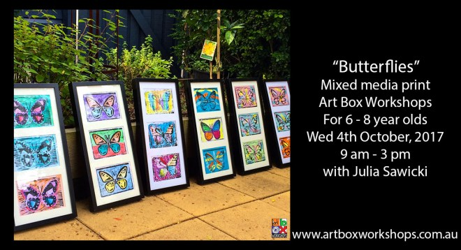 butterfly prints created @artboxworkshops