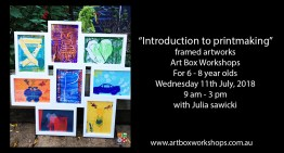 Art box Workshops Introduction to printmaking