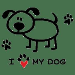 TEMP-I HEART MY DOG