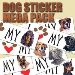 DAVE WENZEL DOG BUMPER STICKER MEGA SAMPLE PACK