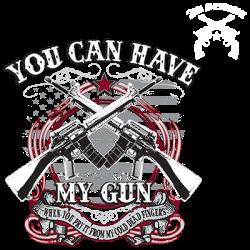 TEMP-HAVE MY GUN W/CREST