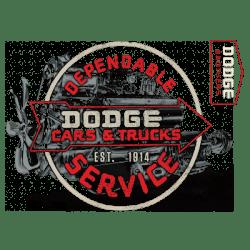 VINTAGE DODGE SIGN