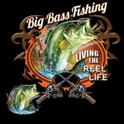 BIG BASS FISHING W/CREST