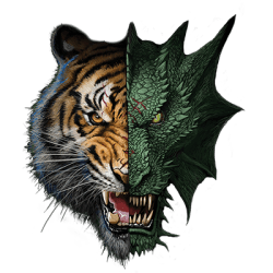 HALF DRAGON TIGER