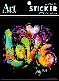 COLORFUL LOVE STICKERS