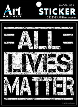 ALL LIVES MATTER STICKERS