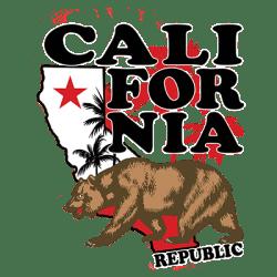 MAP CALI BEAR