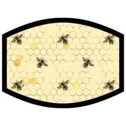 HONEYCOMB BEES DYETRANS MASK TRANSFERS