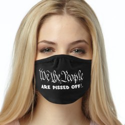 WE THE PEOPLE PISSED 2-PLY MASKS