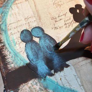 Painting Birds Amanda Hilburn